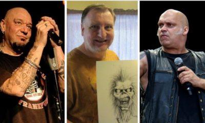 Paul Di'anno Blaze Bayley Derek Riggs salón fama metal