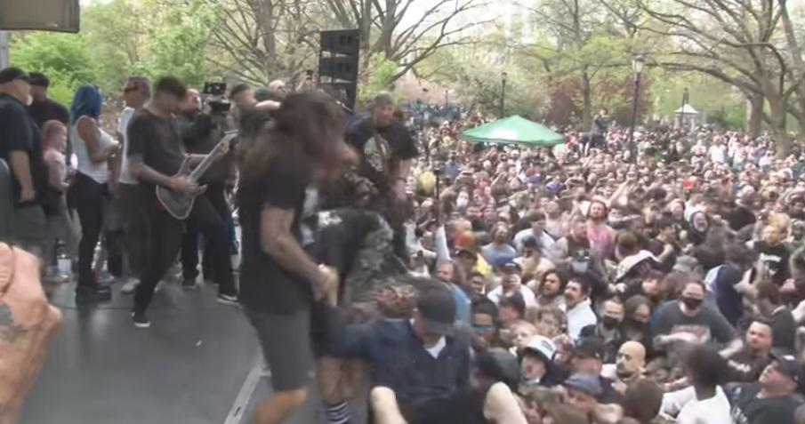 concierto hardcore investigado nueva york