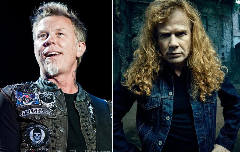 Dave Mustaine James Hetfield