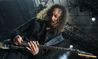 kirk hammett subasta guitarra load reload black album