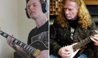 solo Megadeth hotel california