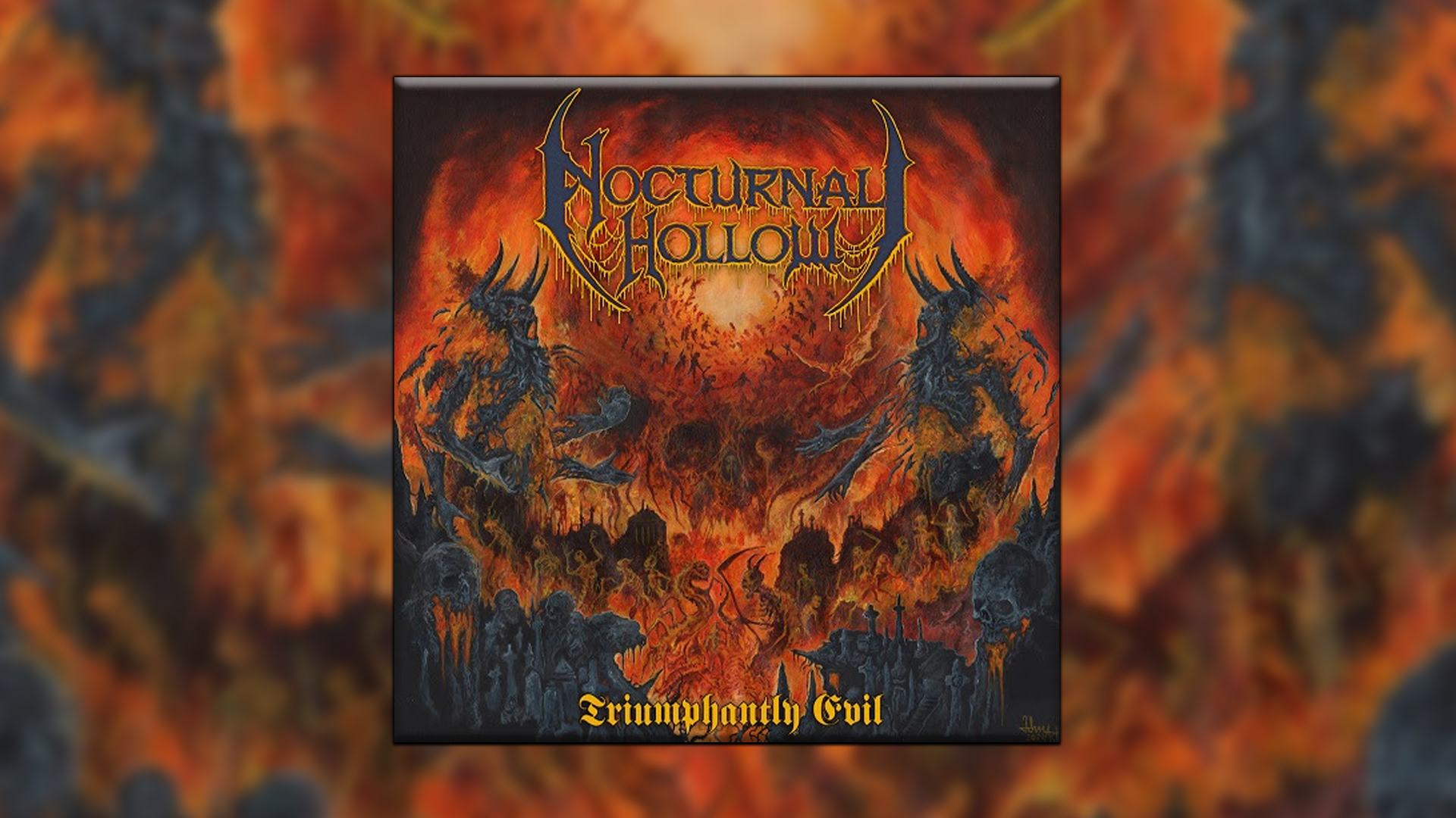 Reseña Nocturnal Hollow Triumphantly Evil