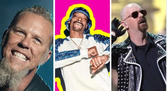 Metallica Snoop Dogg Judas Priest 2021