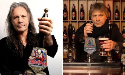 bruce dickinson cerveza trooper iron maiden aniversario