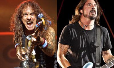 Iron Maiden cuarto y Foo Fighters