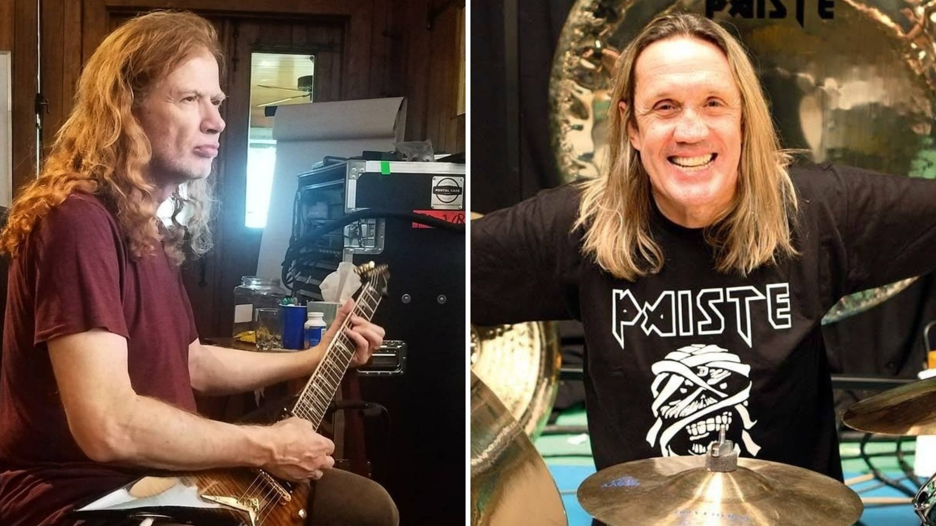 nicko mcbrain dave mustaine clases maestras 2021