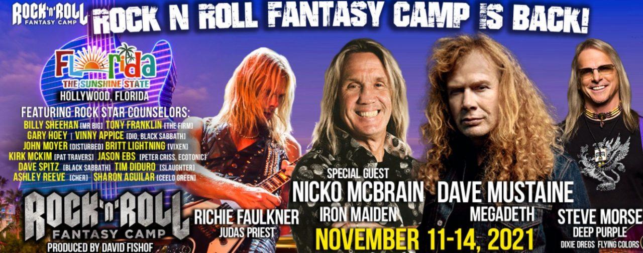 rock roll fantasy camp