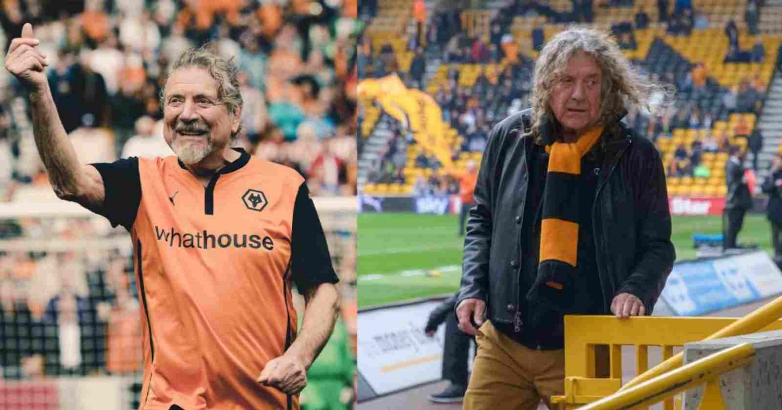Robert Plant futbol