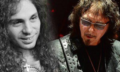 Tony Iommi Ronnie James Dio