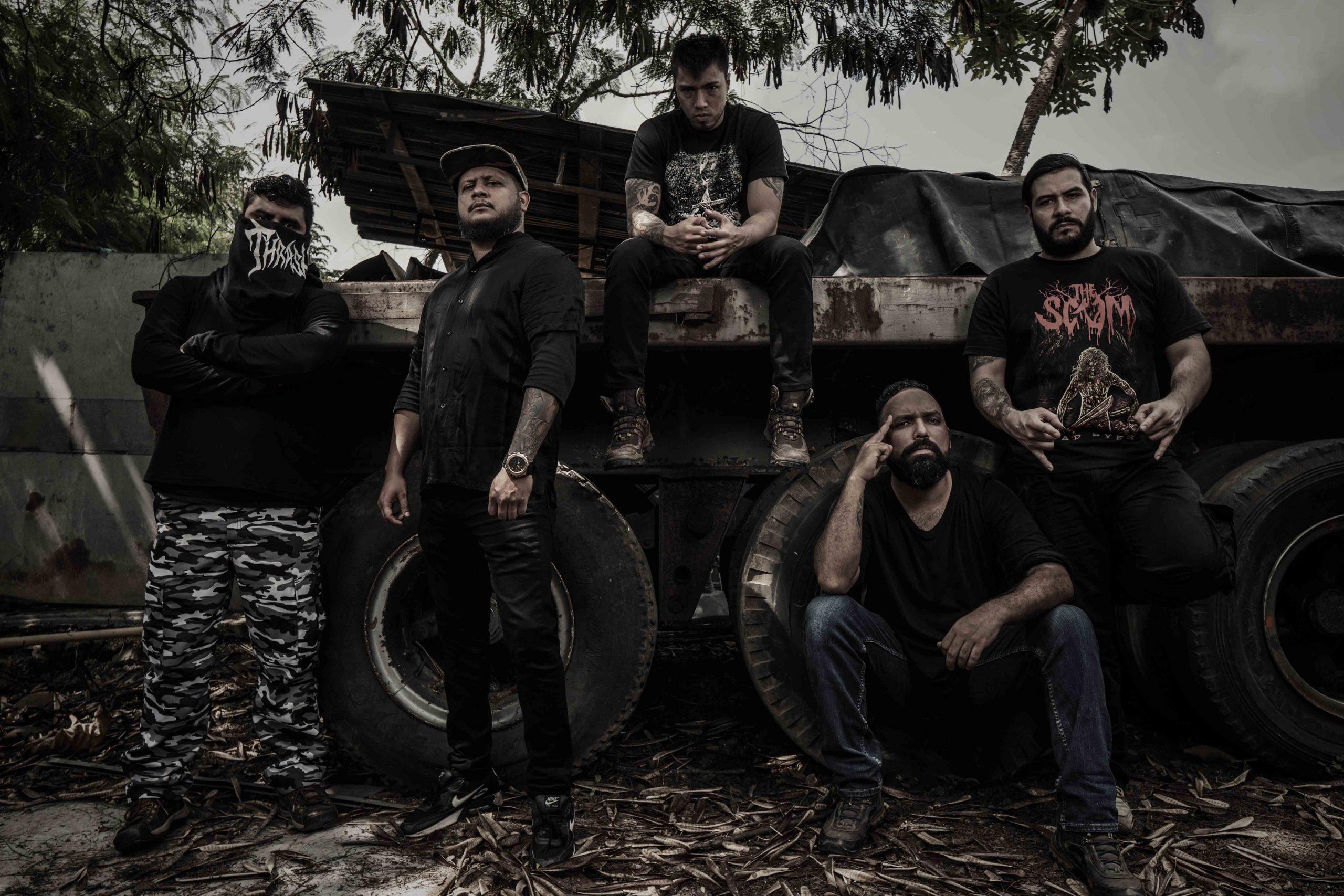 """La banda colombiana Dissention, presentó su nuevo videoclip """"Mendigos""""; perteneciente a su trabajo discográfico """"Episodios de Inmoralidad"""" (foto: difusión)."""