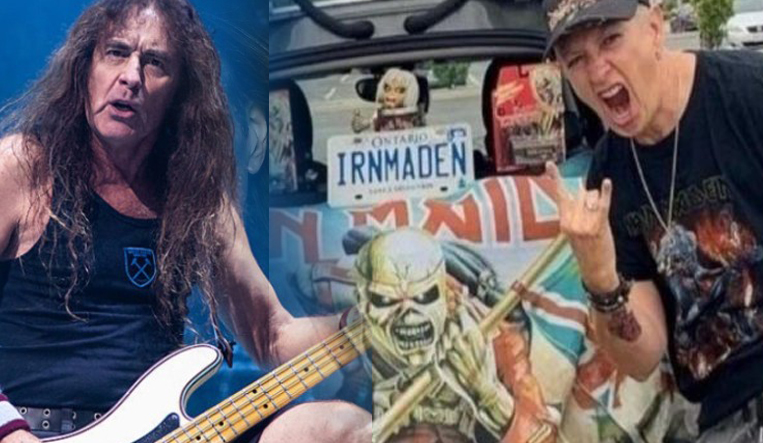 Iron Maiden Sharon Burns